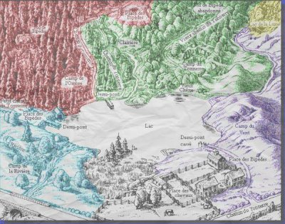 Les clans et leurs territoires