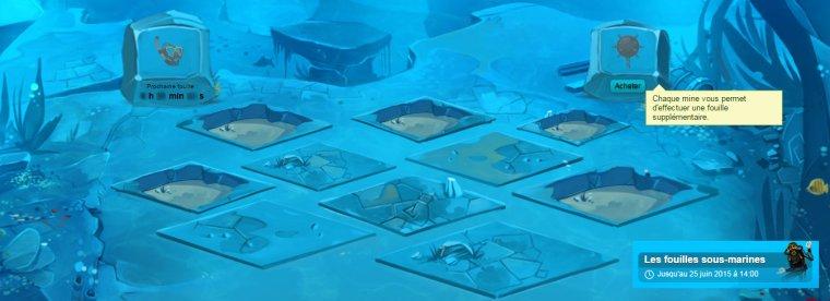 Nouveau jeu: les fouilles sous-marines - 8 juin 2015
