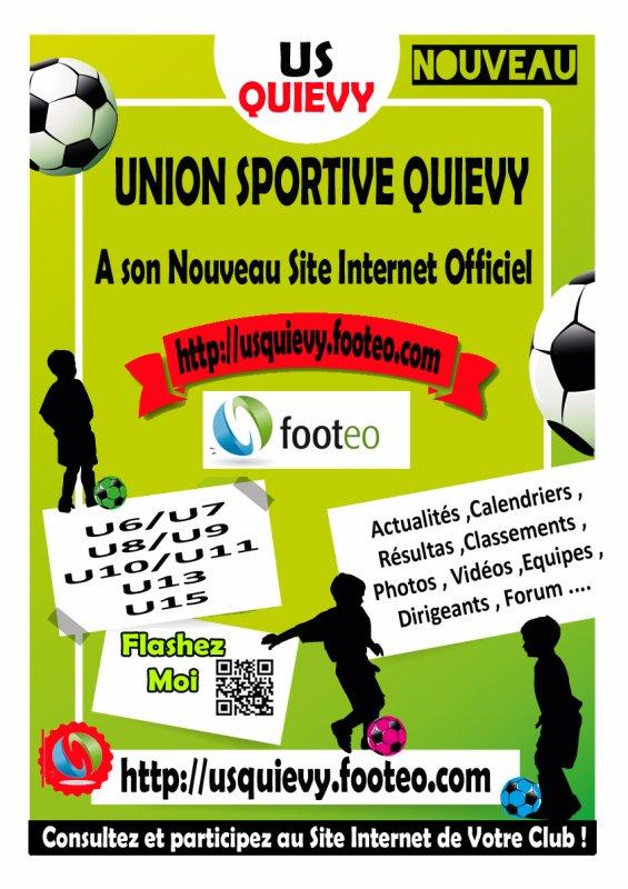 Nouveau Site Internet US QUIEVY