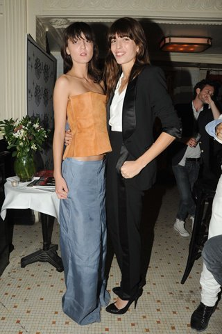 Irina Lazareanu and Lou Doillon.