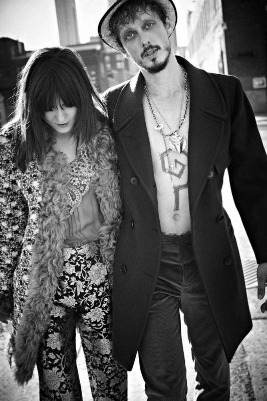 Irina Lazareanu Covers Dress to Kill's Fall 2012 Issue, Shot by Max Abadian.