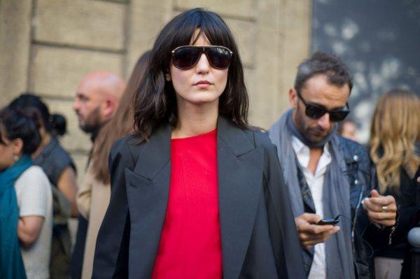 Irina Lazareanu after Martin Margiela, Paris, September 2012