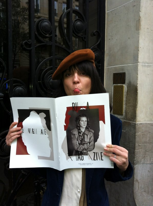 Octobre 2012, Paris. Rika magasine n°7.