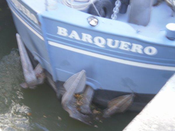 BARQUERO.....ECLUSE DE BOURGOGNE........12 OCTOBRE 2010