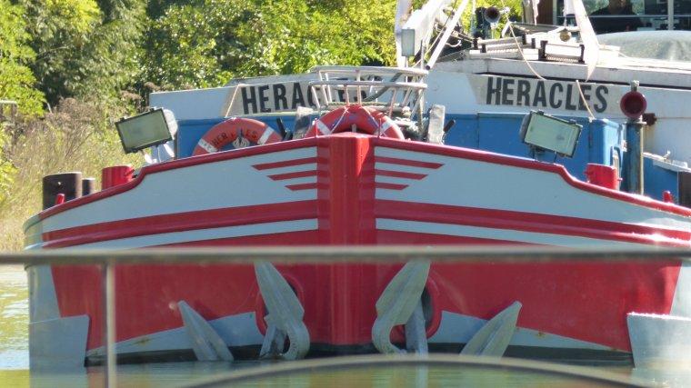 HERACLES...........ECUELLES.......Ecluse de Bourgogne n°18...........OCTOBRE 2016