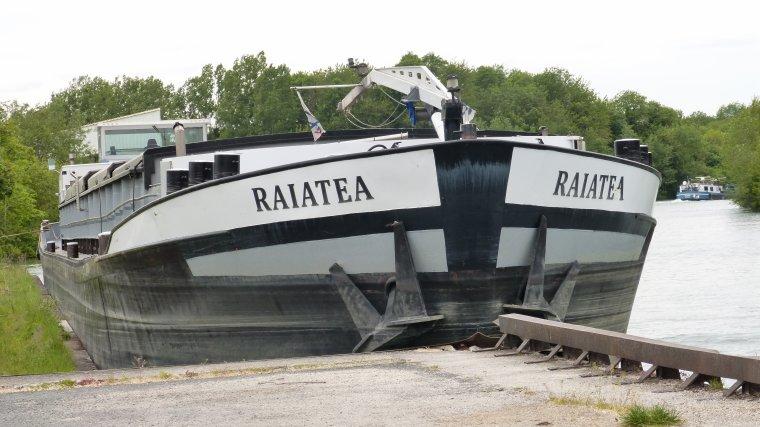 RAIATEA et HEBE...........BRAY SUR SEINE.............MAI 2017