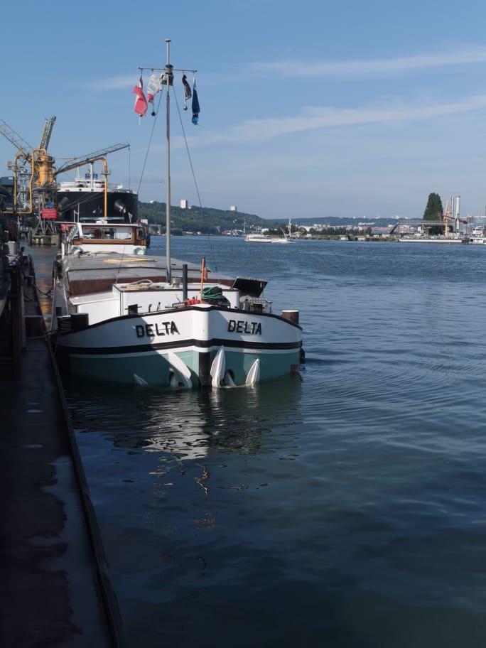ACHERON et DELTA....Port de ROUEN....2021......Merci JIMMY