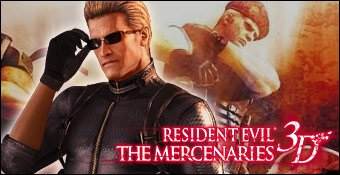 Résident Evil : The mercenaries 3D