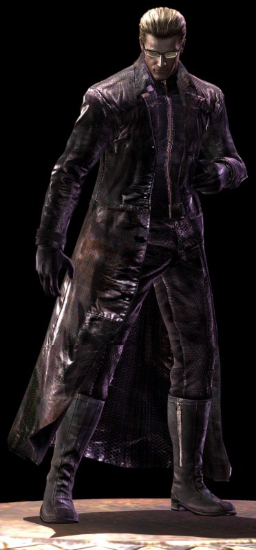 The right to be a god...that right is now mine. ALBERT WESKER