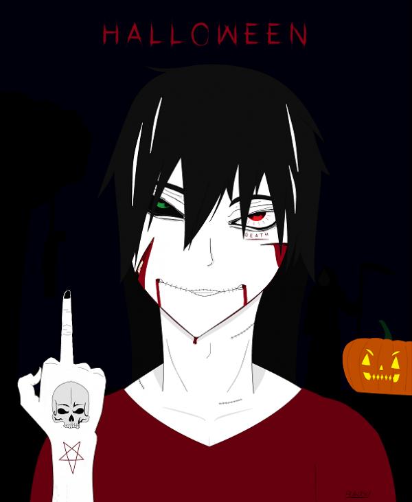 - Halloween, me voilà. -