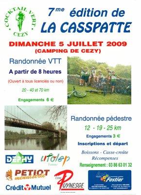 """05 Juillet 2009  """"La Casspatte"""" 7ème édition"""