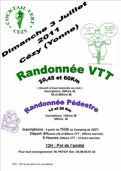 """03 Juillet 2011 """"La Casspatte """" 9ème édition"""