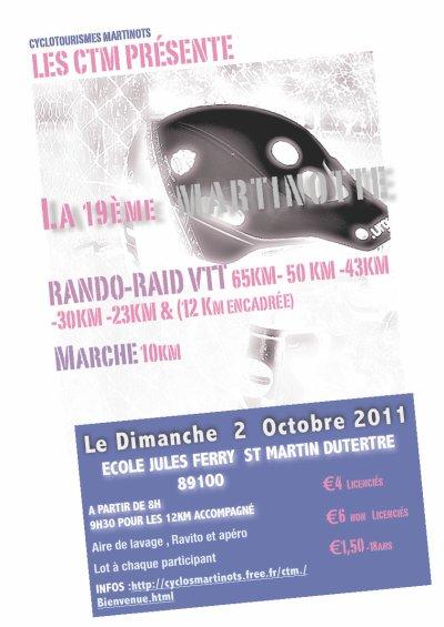 "02 Octobre 2011 "" La martinotte"""