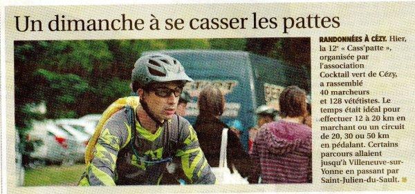 "20 Juiilet 2014 "" La CASSPATTE"""