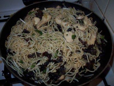 une recette pour celle qui aime manger asiatique et trés facile à faire !!!