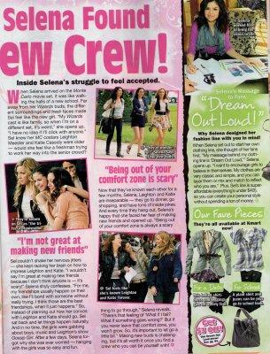 """Scans du magasine """"Twist"""" du mois de septembre 2010"""