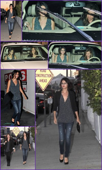 "Photos du clip de Selena Gomez - A Year Without Rain & Selena sortant d'un restaurant mexicain ""Red O"" avec sa mère Mandy, le 1/09/10"