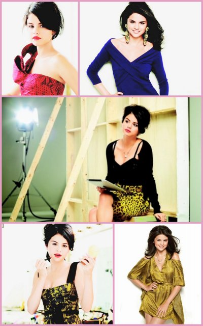 "Photoshoot pour l'album ""A YEAR WITHOUT RAIN"" & Photoshoot du magazine ""LATINA"""