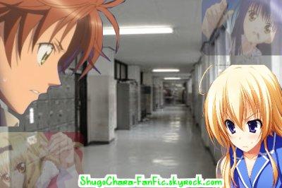 Chapitre 3 :: Rima et Nagihiko , Clash ??!  Ange , tiens le coup ! ► ShugoChara-FanFic