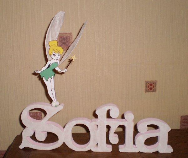Sofia et la fée clochette.........