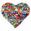 un grand coeur remplie d amours et bonheurs