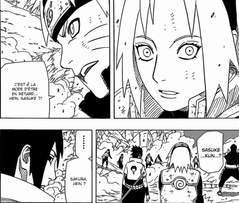 Naruto scan 631 - Mini analyse