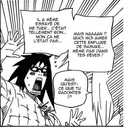 Scan Naruto - Mes réactions xD