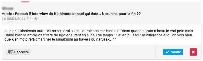 Pooouh !! Interview de Kishimoto sensei qui date... Naruhina pour la fin ??
