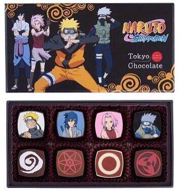 St Valentin - Chocolat Naruto