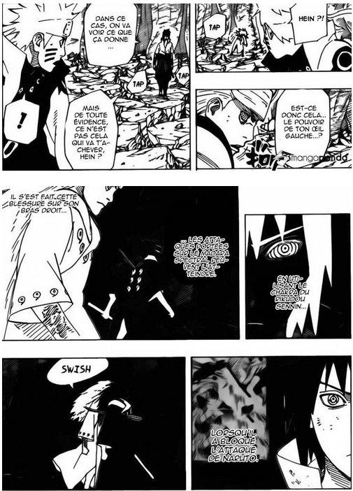Le pouvoir de Sasuke...