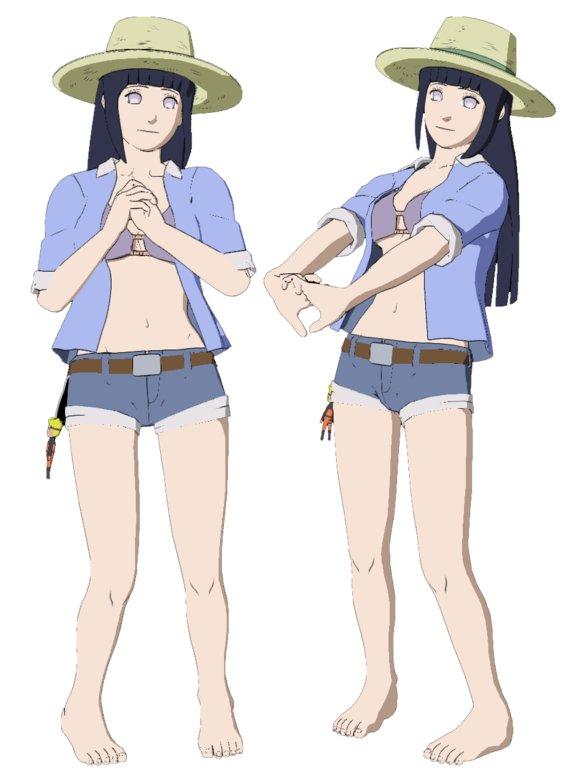 Naruto Storm Revolution - DLC Girls