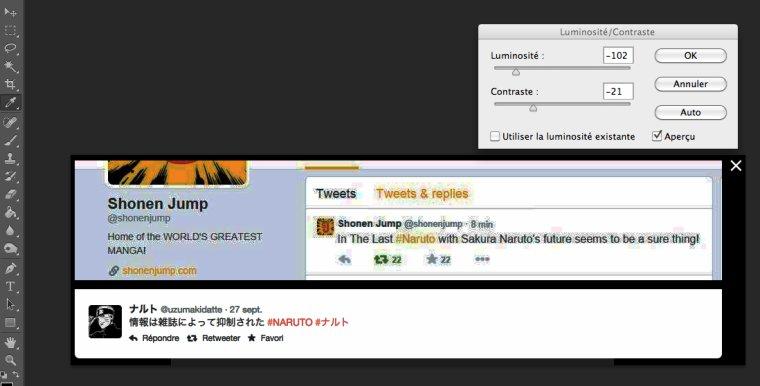 Les NS crées des FAKE en faisant des faux Tweet pour The Last....