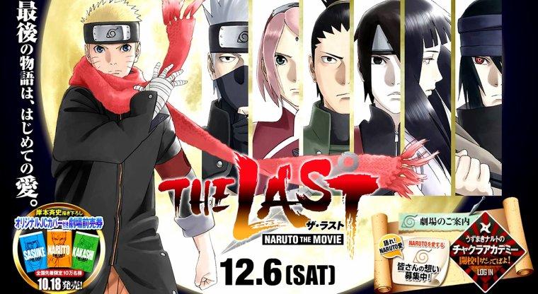 Naruto Movie 10 - The Last Sakura & Naruto Color