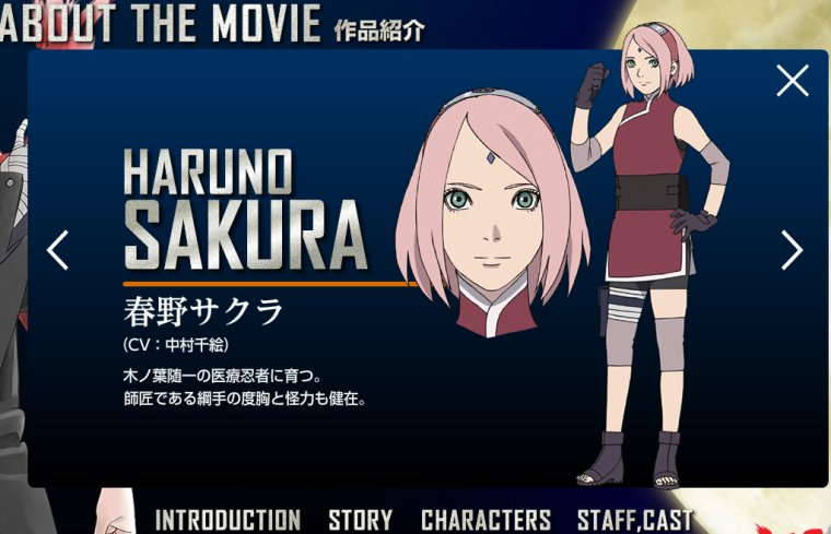 Naruto Movie 10 - The Last CharacterS