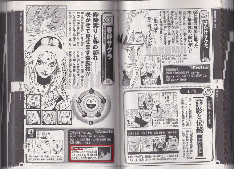 Naruto Databook 4 - Sakura & Hinata