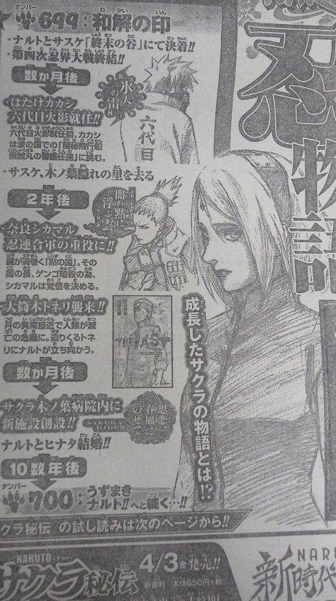 Chronologie de la période des novels + Sakura Hiden intro