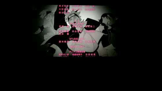 Boruto Movie - Family + Team (générique fin)