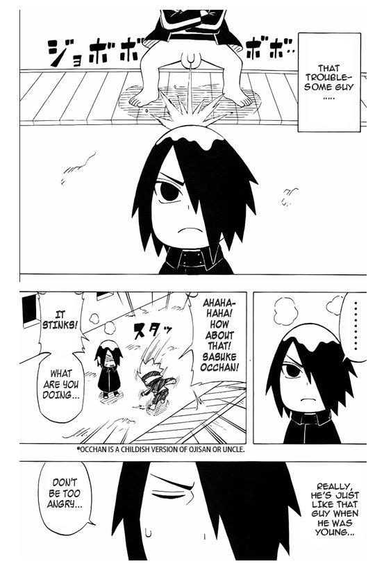 Boruto scan- Sakura Oiroke no Jutsu sur Sasuke VA