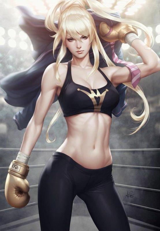 J aime po me battre mais là je ferai une exception contre une telle adversaire ^_^