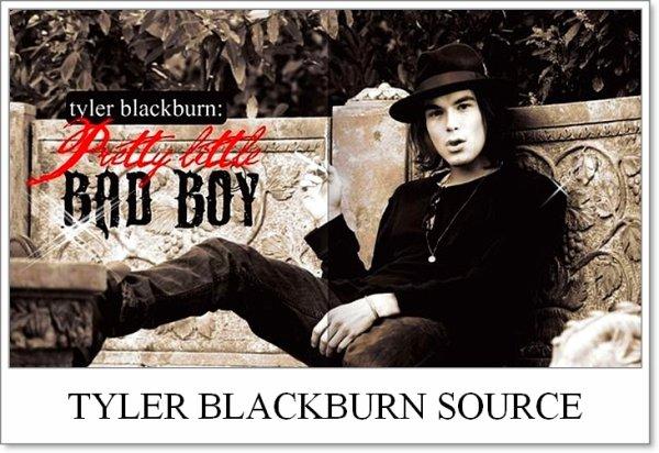 B I E N V E N U E ; Blog source sur l'acteur Tyler Blackburn.