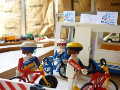 Tour cycliste de la Playmo-République: étape saint-playmo