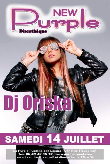 [ New Purple @ Canet en Roussillon, Samedi 14 Juillet ]