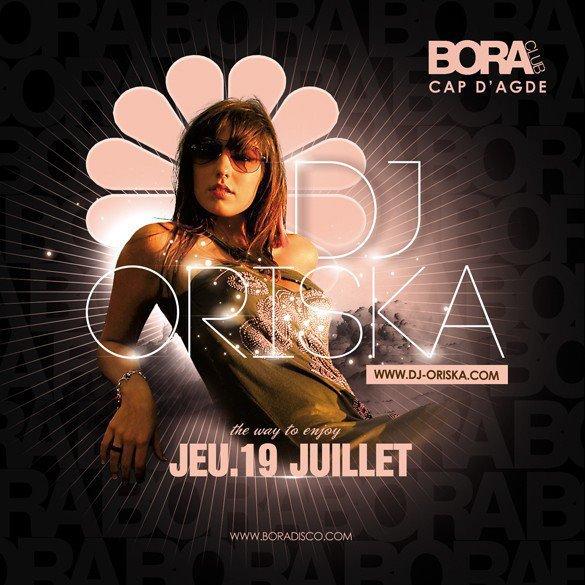 [ Live Clubbing @ Bora, Cap d'Agde, 19 Juillet 2012 ]