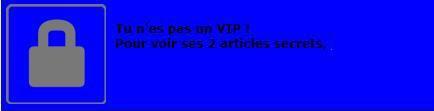 demande de VIP +18