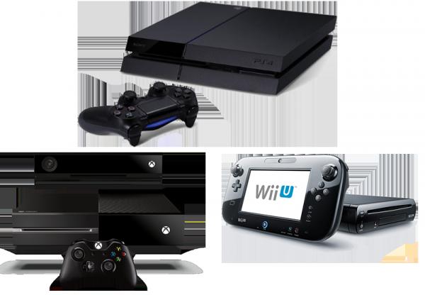 rivalité de consoles ps4 vs xbox one vs wii U , comment choisir ?