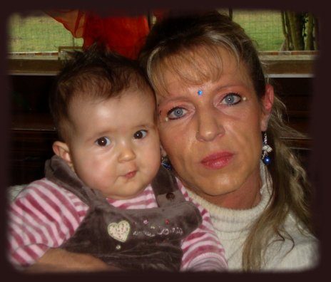 Avec ma petite fille je taime