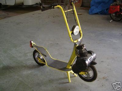 trottinette moteur solex