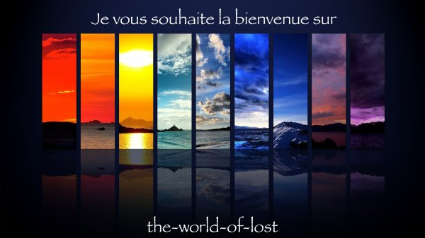 Bienvenue sur the-world-of-lost