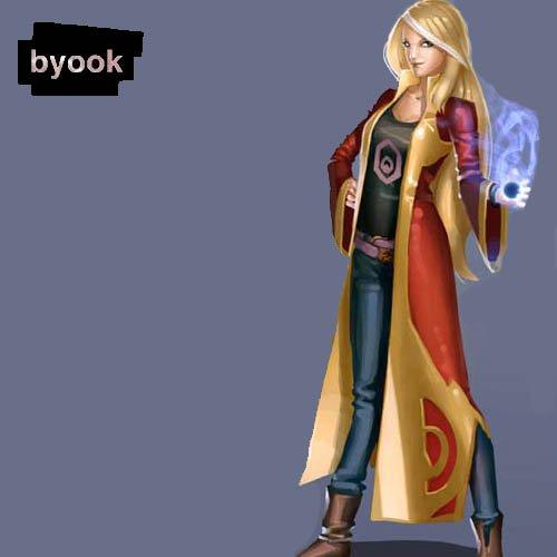 Byook et Tara Duncan