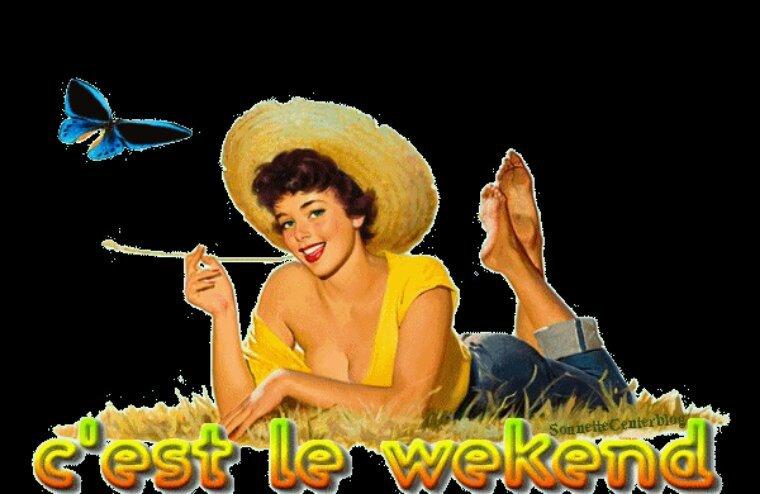 Bon weekend à tous
